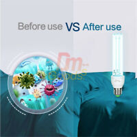E27 UVC Ultraviolet Light Bulb Disinfection Lamp Ozone Sterilize Germicidal 20W