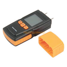 Portable LCD Digital Display Wood Timber Moisture Content Meter Detector Tester