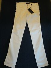 VERSUS VERSACE ELEGANT WHITE JEANS - MADE IN ITALY - VERY RARE & COLLECTABLE