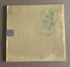 THE WHO! LIVE AT LEEDS!! RARE VINYL 1973 GLOVERSVILLE PRESSING  MCA2022