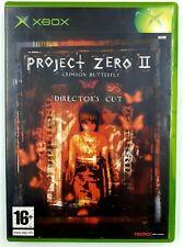 Project Zero II 2 crimson butterfly - Xbox originale - Complet - PAL FR