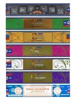3 or 12 Pack Box Satya Genuine Nag Champa Natural Incense Sticks Joss - Fresh