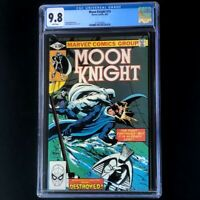 Moon Knight #10 (1981) 💥 CGC 9.8 White Pages 💥 Bill Sienkiewicz Marvel Comic