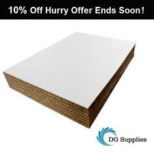 A5 A4 A3 A2 A1 A0 White Cardboard Corrugated Sheets Pads Divider Art Craft Board
