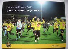 LIVRE - COUPE DE FRANCE 2010 - DANS LE COEUR DES JAUNES - US QUEVILLY