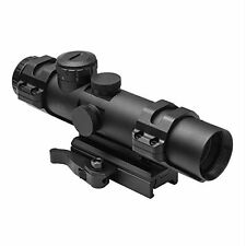 NcSTAR 4 x 32mm XRS Scope with Modular Upper Scope Rings and Convertible Base
