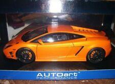 1/18 Autoart Lamborghini Gallardo Super Trofeo Orange Sold Out