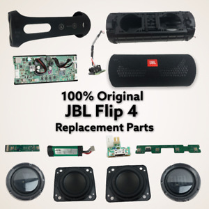 GENUINE JBL Flip 4 Black Main Board/ Speaker/Charging AUX Port REPLACEMENT PARTS