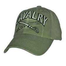 US ARMY CAVALRY - U.S. Army Cavalry OD Green Military Baseball Cap Hat