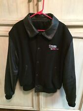 Wool & Leather Letterman Penda Racing NASCAR Truck Jacket Californian XL Rare