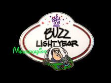 Toy Story Buzz Lightyear - Name Badge Disneyland Hk 2010 Disney Mystery Pin
