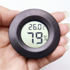 LCD Useful Black Thermometer Digital Hygrometer Temperature Humidity Display