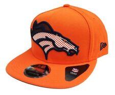 DENVER BRONCOS 2018 NFL NEW ERA 9FIFTY MESHED MIX ORANGE SNAPBACK HAT CAP $32