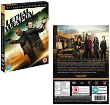 LETHAL WEAPON 2 (2017-2018):TV Action Spinoff Season Series - NEW R2 DVD not US