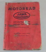 Betriebsanleitung / Handbuch Jawa 350 Typ 354 / 250 Typ 353 Stand 1961
