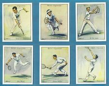 Wills cigarette cards - LAWN TENNIS 1931 - Full mint condition set.