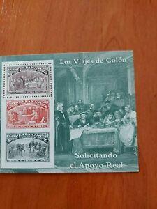 SELLOS. LOS VIAJES DE COLON. 1992