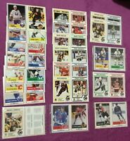 1990-91 Kraft Dinners LOT Of 20 UNCUT 2 CARD PANELS NHL Hockey RARE Sundin Jagr