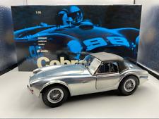 1/18 Exoto 1963 Carrol Shelby Cobra 260 Polished Aluminum Top Up RLG18122 WOW