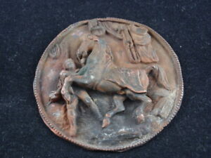 Very old Repuse medalion WITH THE IMAGE OF A HORSE