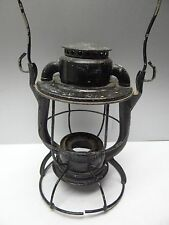 Vintage Black Metal Dietz Vesta N.Y.C.S. NYCS Train Railroad Lantern Lamp Parts