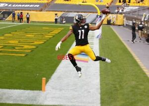 CHASE CLAYPOOL PITTSBURGH STEELERS TD CATCH NFL ROOKIE RECORD 4 TD'S COLOR 8X10
