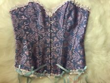 Unbranded Brocade Ribbed Corset XL Cosplay Stretch Costume Fantasy Victorian
