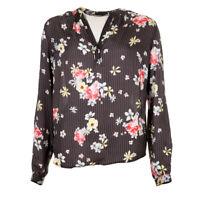 PRIMROSE PARK Blouse Black Floral Size XS RRP £99 BG 191