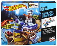 Track Set Hot Wheels Colour Shifters Sharkport Showdown with Colour Shifters Car