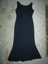 Watters & Watters brand navy blue sleeveless formal long dress, ladies' size 4