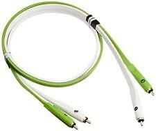 Neo Oyaide D RCA Class B Bianco Verde 1m professionale Grado da Studio