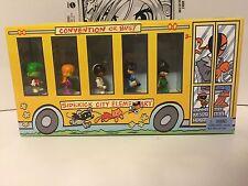 SDCC San Diego DC Comics 2012 Exclusive DCU Teen Tiny Titans Bus Set Mattel New