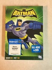 Batman The Brave And The Bold Season 1 Part 2 W/bonus Stickers Sealed Free Ship!