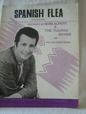 Vintage Sheet Music Spanish Flea - Herb Alpert & The Tijuana Brass