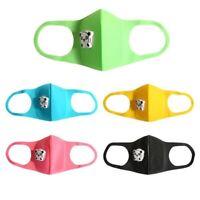 Kids Face Mask Washable Reusable Mouth Mask Breathable Valve Mask Cover Pm2.5 AU