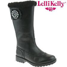 Lelli Kelly LK8594 (CB01) Hilary Nero Pelle Boots