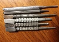 Lot of 6 Vintage Tools Nail Sets & Punches Craftsman Stanley Mayhew Made In USA