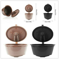 Refillable Coffee Capsule Cup For Dolce Gusto Nescafe Reusable Filter Pods New