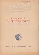 SCHIANO DI PEPE SOCIETÀ DI PROFESSIONISTI IMPRESA PROFESSIONALE SOCIETÀ 1977