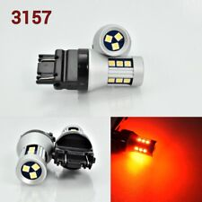 T25 3157 4157 LED Front Signal Red Bulb OSRAM 15 SMD K1 A
