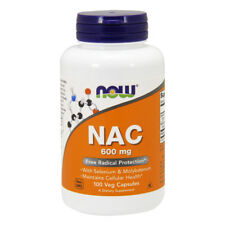 NOW FOODS NAC (N-Acetil Cisteina) 600 mg 100 capsule