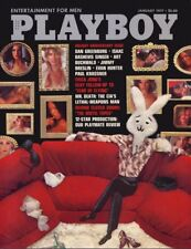 Playboy January 1977 / Barbara Leigh / Alex Haley Interview / Playmate Review