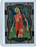 CRYSTAL DUNN 2017/18 Panini Select Soccer #177 Investment Card USA Womens Soccer