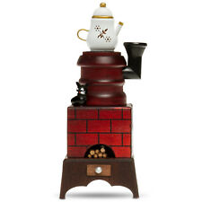 SIKORA Serie E Christmas Wood Incense Burner Smoker Figure Oven with Cat Teapot