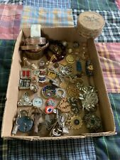 Vintage To Now Junk Jewelry Lot Rings Estate Antique Silver Gold Filled!!! NR