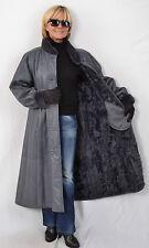 G744 odres abrigo abrigo de piel Pelz inflexión abrigo abrigo de cuero fur Goat Coat