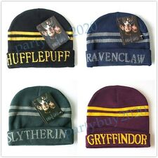 4x Harry Potter Gryffindor/Hufflepuff/Ravenclaw/Slytherin Hat/Cap Costume 1 Pic