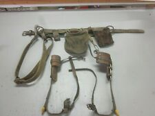 Vintage Bell Systems Utility Belt & Pole Tree Climbing Spikes