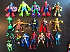 Superhero Action Figures Marvel Comics Hasbro Europe Spiderman Captain America +