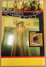 Tinsley Ellis Rare 2000 Promo Poster of Kingpin Cd Usa Mint 11x17 Never Displayd